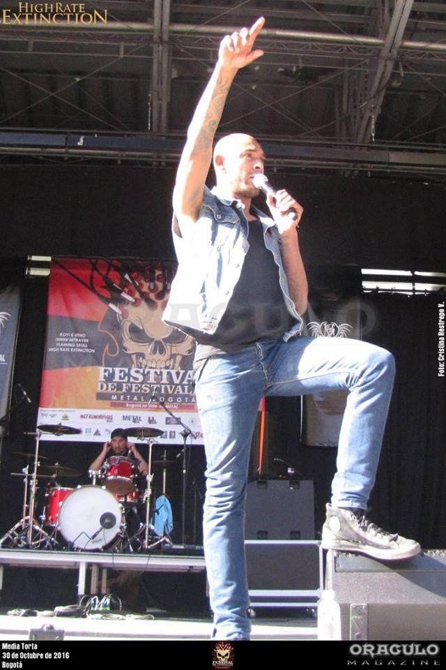 Festival de Festivales Metal Bogotá 2016