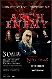 Arch Enemy en Bogotá