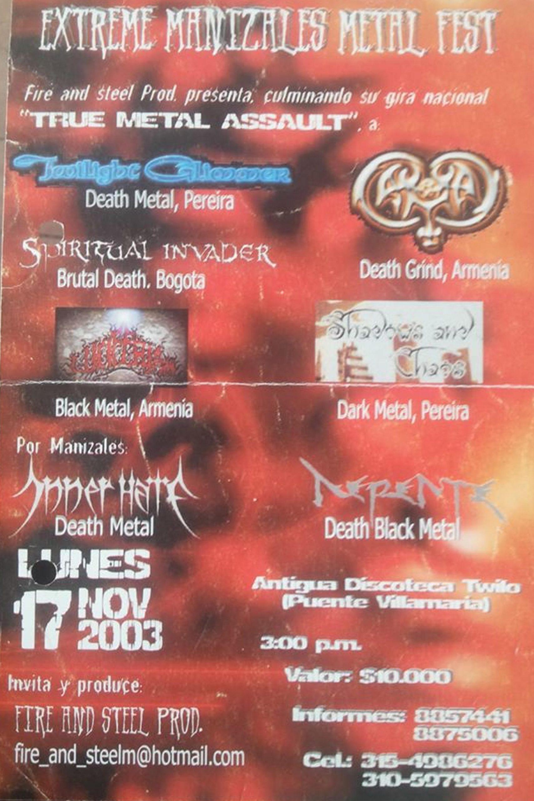 Extreme Manizales Metal Fest