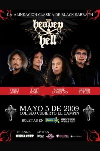 Heaven and Hell en Bogotá