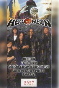 Helloween en Colombia