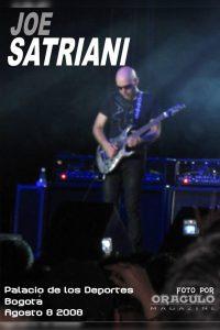 Joe Satriani en Colombia