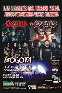 Kreator-Exodus en Bogotá