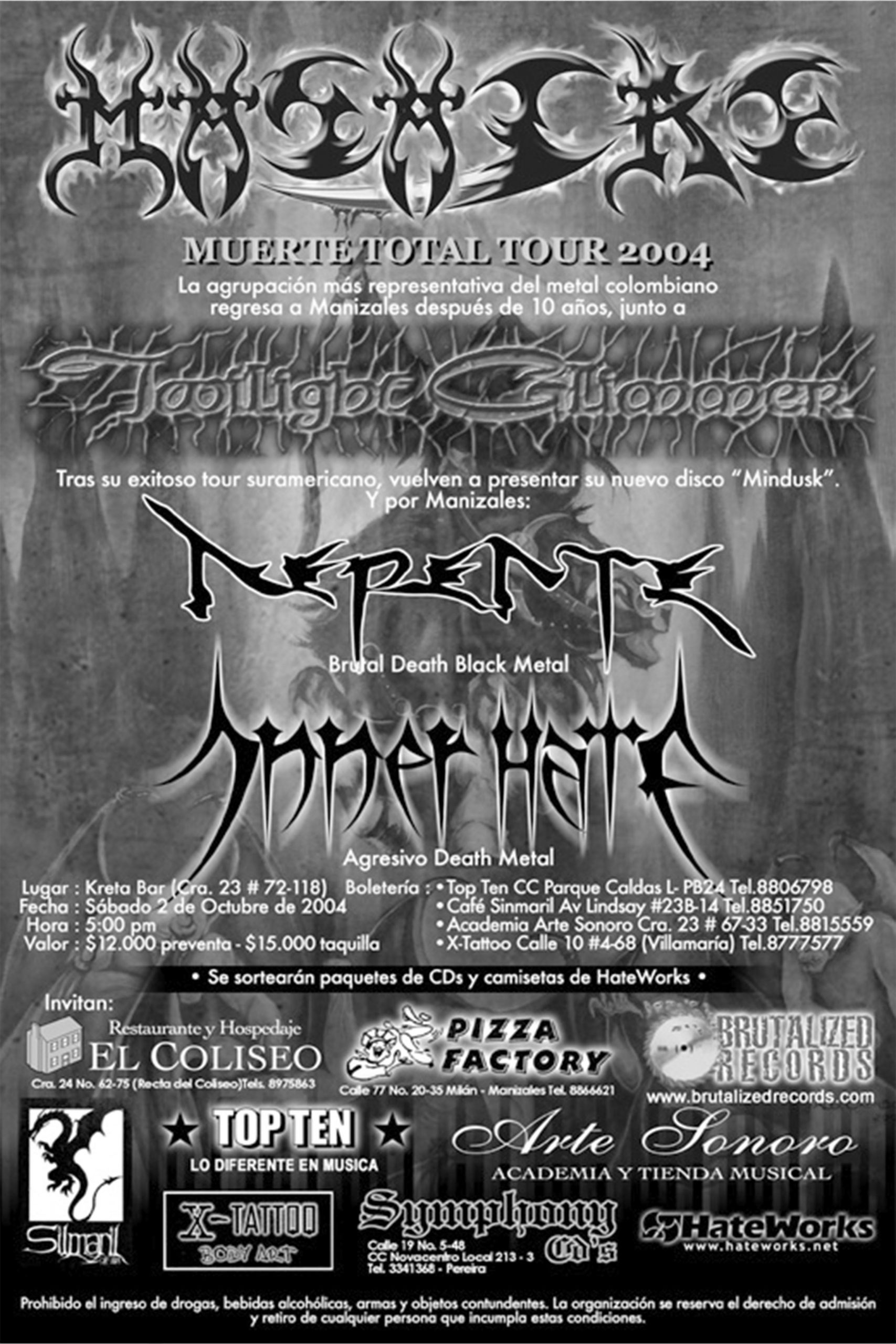 Muerte Total Tour 2004