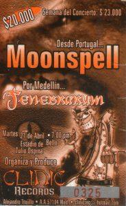 Moonspell en Medellín