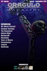30° Edición. Agosto-Sep 2015