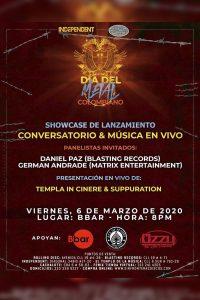 Showcase de Lanzamiento: Día del Metal Colombiano