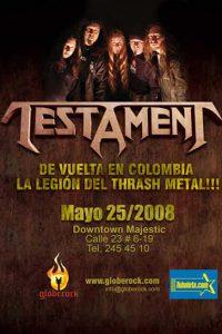 Testament en Bogotá