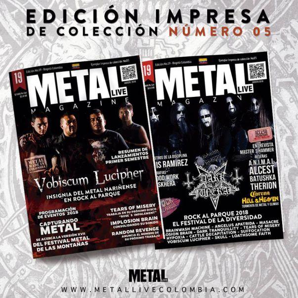 5° Edición Impresa de Metallive Colombia