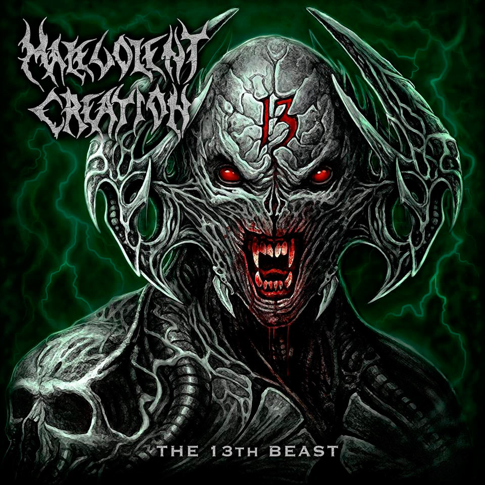 "Malevolent Creation Pública la Portada de ""The 13th Beast"""