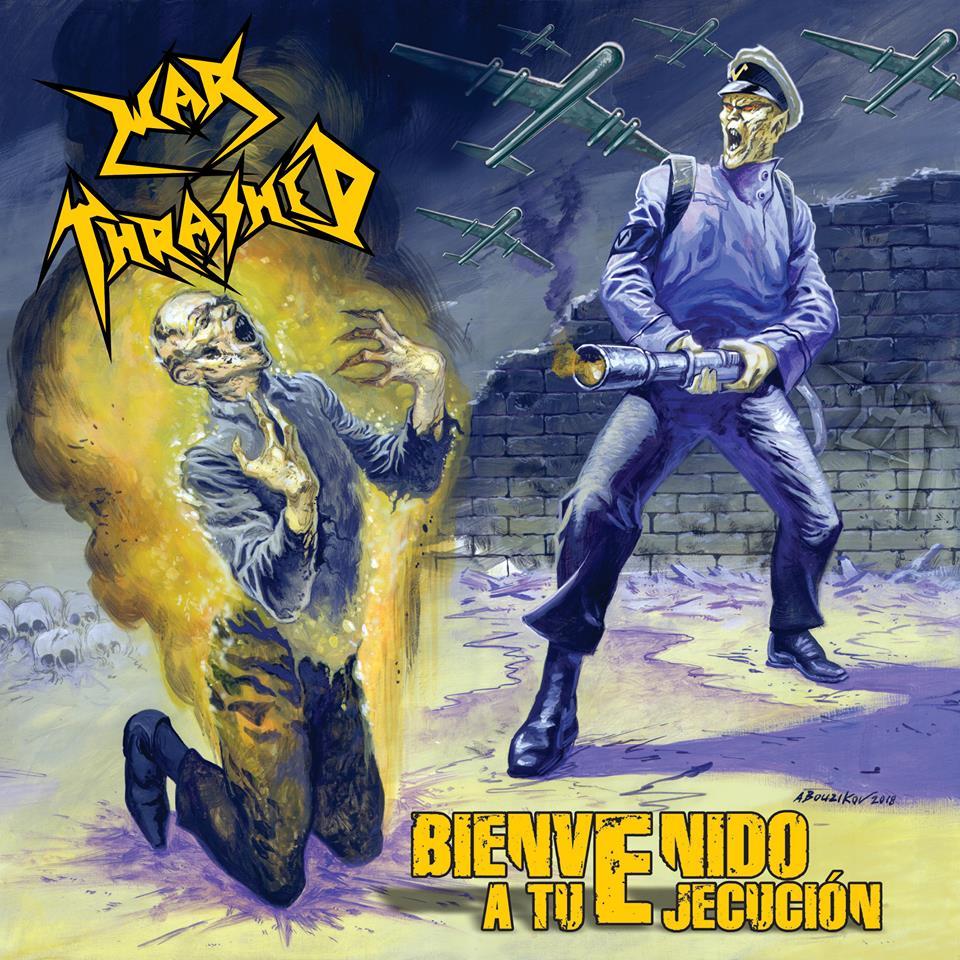 Portada del Nuevo Álbum de War Thrashed