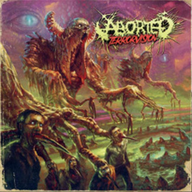 """""""TerrorVision"""" es el título del nuevo álbum de Aborted"""