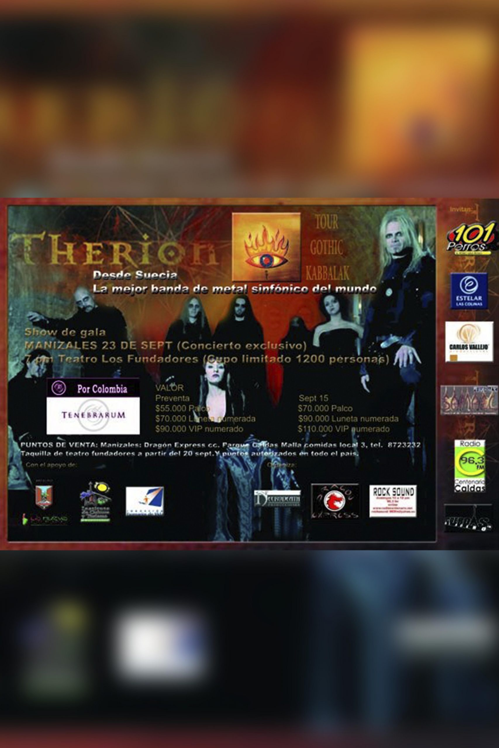 Therion en Maniales